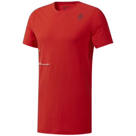 Reebok CrossFit Herren Trainingsshirt RC Mesh Move Tee DU5059 XXL Canton Red | XXL