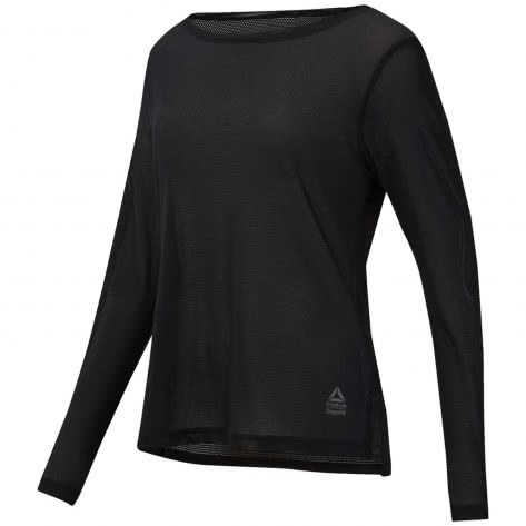 Reebok CrossFit Damen Langarmshirt RC Jacquard LS Tee