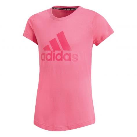 adidas Mädchen T-Shirt Must Have BOS semi solar pink real magenta Größe 110,116