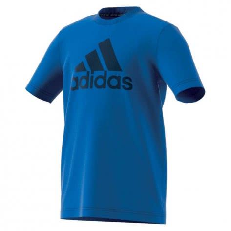adidas Jungen T-Shirt Must Have BOS blue collegiate navy Größe 116,128,140,152,176