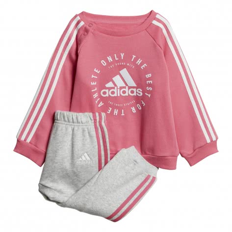 adidas Baby Jogginganzug 3 Stripes Jogger Fleece