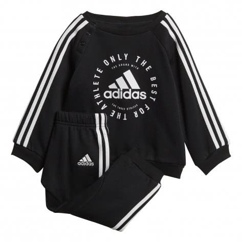 adidas Baby Jogginganzug 3 Stripes Jogger Fleece