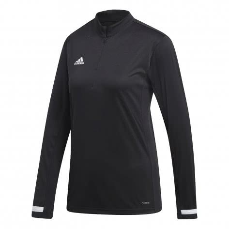 adidas Damen Langarmshirt 1/4 Zip TEAM 19