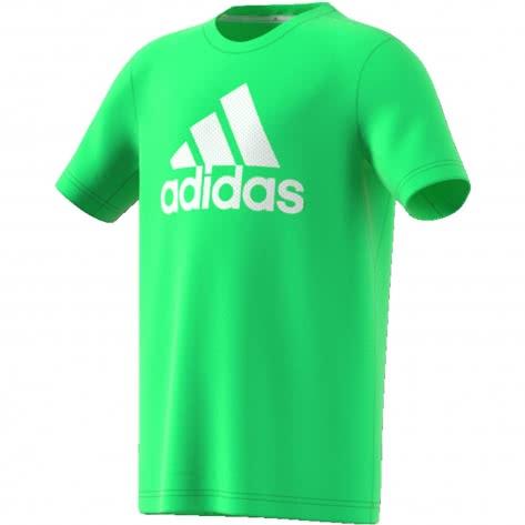 adidas Jungen T-Shirt PRIME TEE shock lime shock lime Größe 110,116,128,140,152,164,176