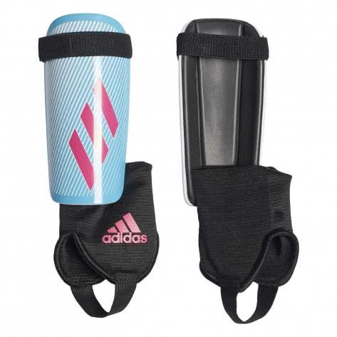 adidas Kinder Schienbeinschoner X YOUTH DY2583 S bright cyan/shock pink/black | S