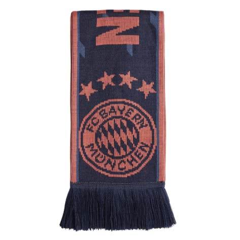 adidas FC Bayern München Fanschal FCB SCARF 2019/20 DY7685 One size collegiate navy/night marine/scarlet | One size