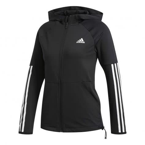 adidas Damen Hoodie 3S Full Zip