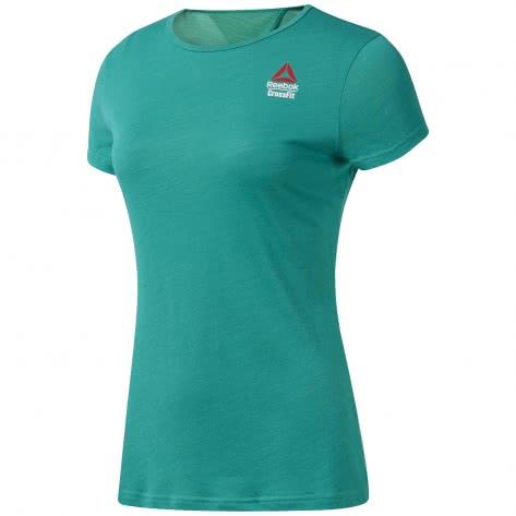 Reebok CrossFit Damen T-Shirt RC ACTIVCHILL + Cotton Tee Games