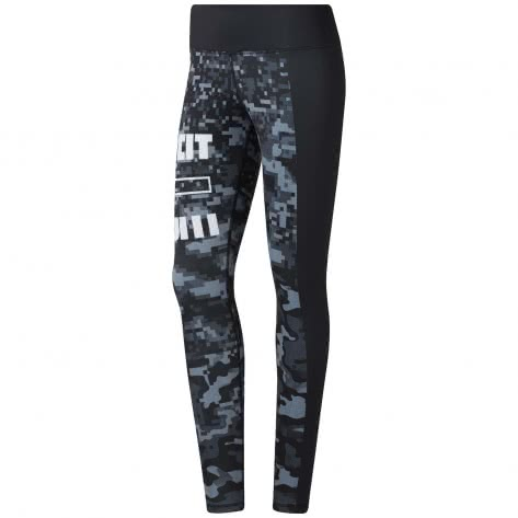 Reebok CrossFit Damen Tight RC Lux Tight- Print