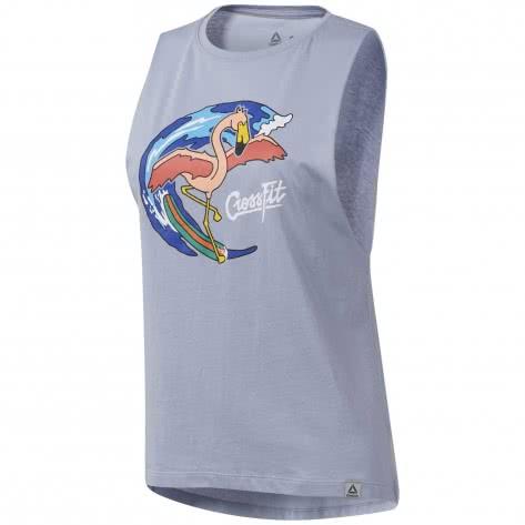 Reebok CrossFit Damen T-Shirt Surfer Flamingo Muscle
