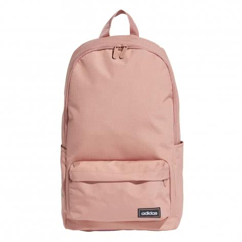 adidas Rucksack CLASSIC 3S BP W ED0278 raw pink/grey six/white | One size