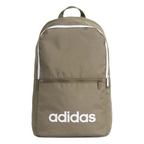 adidas Rucksack LINEAR CLASSIC BACKPACK DAILY ED0291 raw khaki/white/white | One size