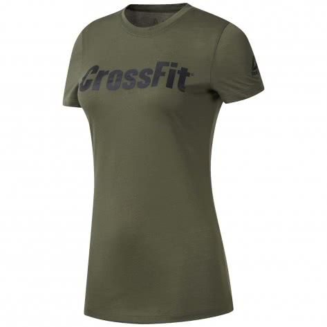 Reebok CrossFit Damen Trainingsshirt FEF Tee Speedwick
