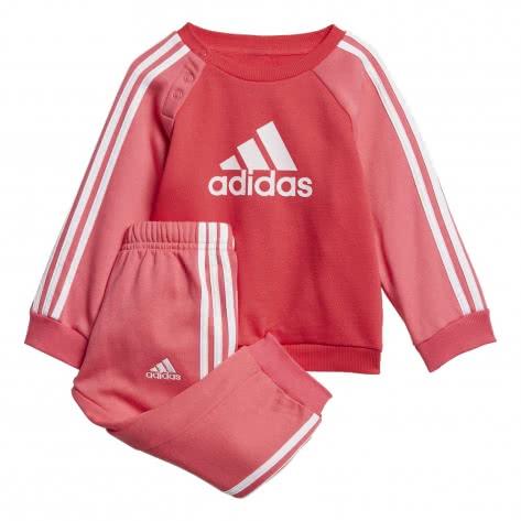 adidas Baby Jogginganzug I LOGO JOG FLEECE ED1178 80 active pink/REAL PINK S18/white   80