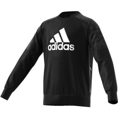 adidas Jungen Pullover YB ID SPCR CREW ED6395 116 Black/White | 116