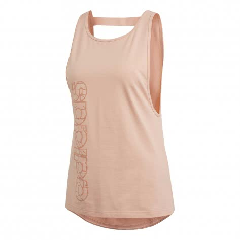 adidas CORE Damen Tanktop Motion EH6439 XS glow pink/copper met.   XS