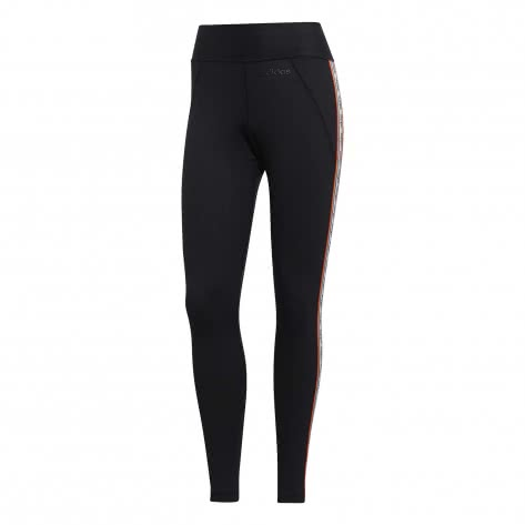 adidas Damen Tight Brilliant Basic Tight X Farm EI0793 M black/white | M