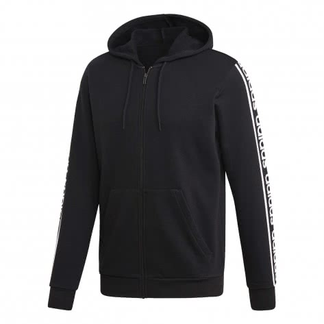 adidas Herren Kapuzenjacke Celebrate the 90s Branded FZ Hoodie EI5615 XS black/white | XS