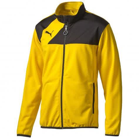 Puma Jungen Trainingsjacke Esquadra Poly Jacket team yellow black Größe 128,140,152