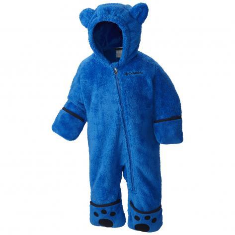 Columbia Baby Fleece Overall Foxy Baby II WN0016 Super Blue, Collegiate Navy Größe 0 3,12 18,18 24,3 6,6 12
