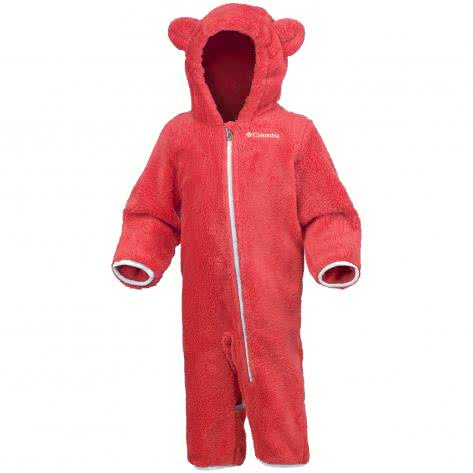Columbia Baby Fleece Overall Foxy Baby II WN0016 Red Camellia, Spray Größe 3 6