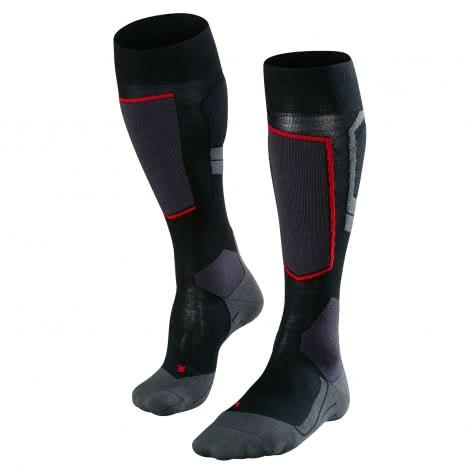 Falke Herren Ski Socken SK4 Wool 16554-3010 42-43 black-mix   42-43