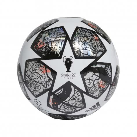adidas Fussball UCL Finale Istanbul Training 2020 FH7346 3 White/Multicolor/Black/Solar Red | 3