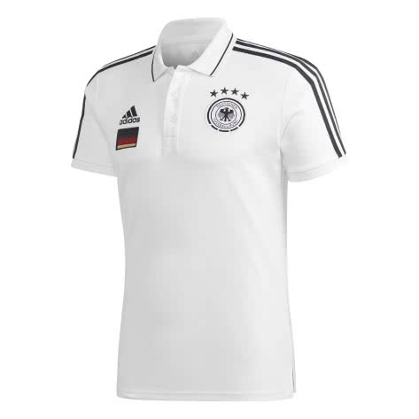 adidas Herren DFB Poloshirt DFB 3 Stripes Polo EM 2020