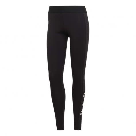 adidas Damen Leggings Stacked Logo Cotton Tights