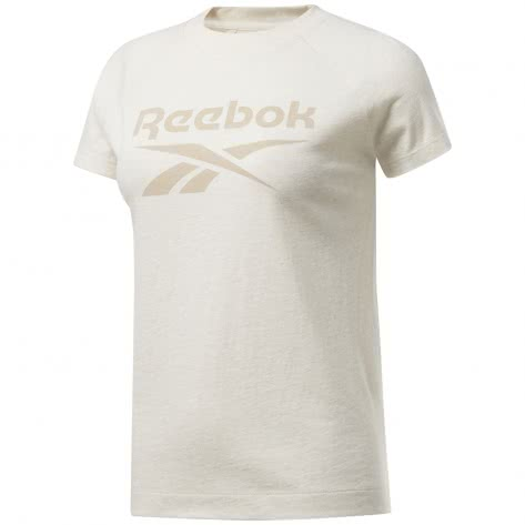 Reebok Damen T-Shirt TE Texture Logo Tee