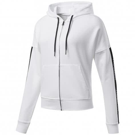 Reebok Damen Sweatjacke TE Linear Logo Hoodie Fullzip
