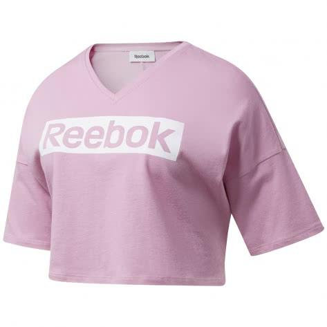 Reebok Damen T-Shirt TE Linear Logo Graphic Tee