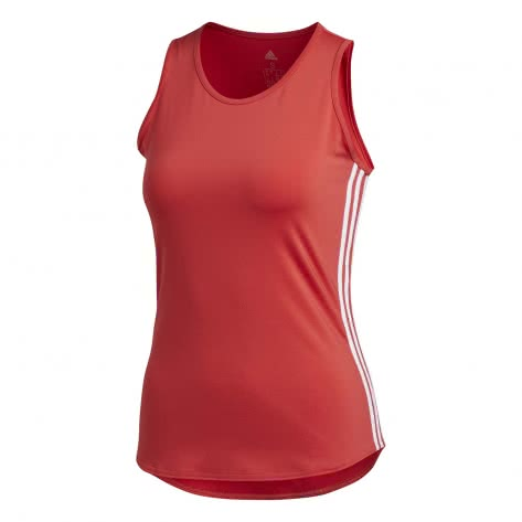 adidas Damen Tanktop 3 Stripe Scoop Tank