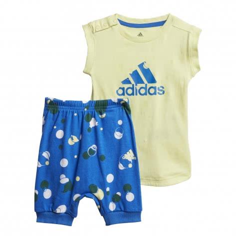 adidas Baby Set I Style Summer Set FM6370 104 Yellow Tint/Blue   104