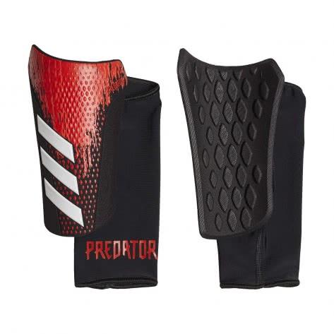 adidas Herren Schienbeinschoner Predator 20 Competition SG FR7409 XL Black/Active Red | XL