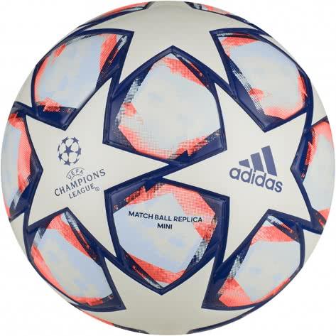 adidas Fussball UCL Finale 20 Mini FS0253 1 White/Team Royal Blue/Signal Coral/Sky Tint   1