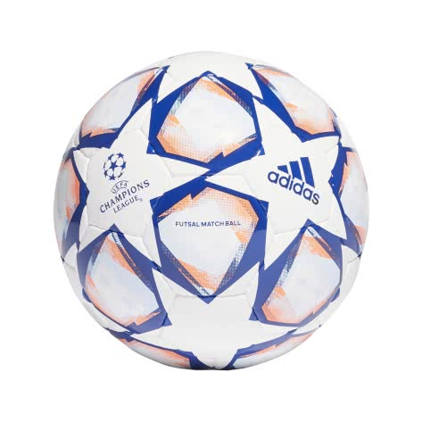 adidas Fussball UCL Finale 20 Pro Sala Ball FS0255 FUTS White/Team Royal Blue/Signal Coral/Sky Tint | FUTS
