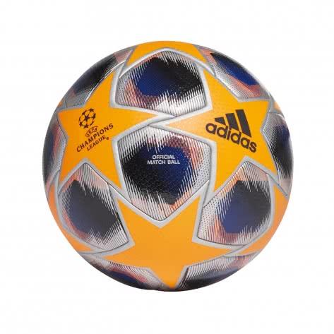 adidas Fussball UCL Finale 20 Pro Winter Ball FS0262 5 Solar Orange/Team Royal Blue/Black/Silver Met.   5