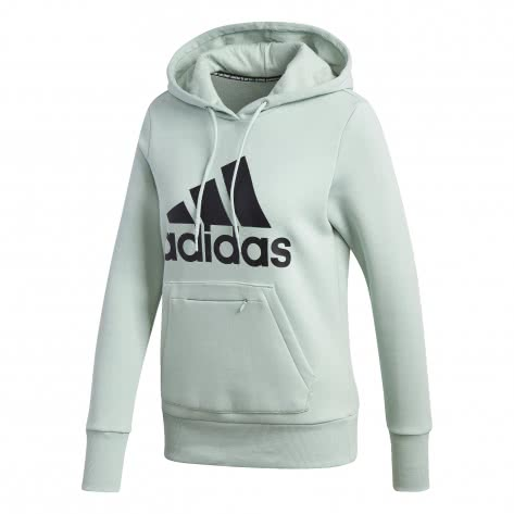 adidas Damen Kapuzenpullover Badge of Sport Overhead Fleece Hoodie