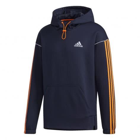 adidas Herren Kapuzenpullover Intuitive Warmth Hooded Sweatshirt GD5319 XS Legend Ink/App Signal Orange | XS