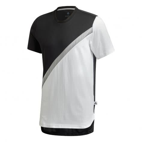 adidas Herren T-Shirt TAN Block Tee