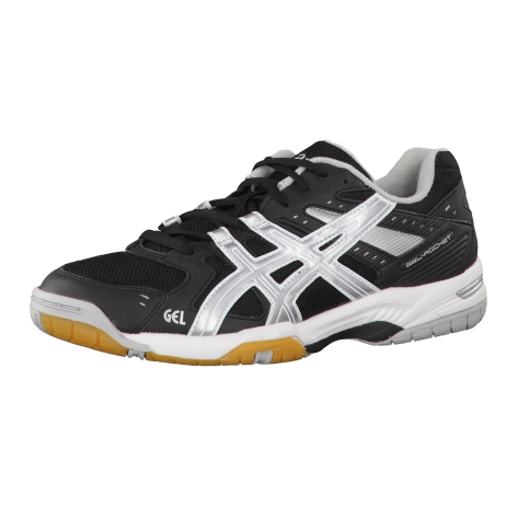 Asics Volleyballschuhe Gel Rocket 6 Black/Silver/Black