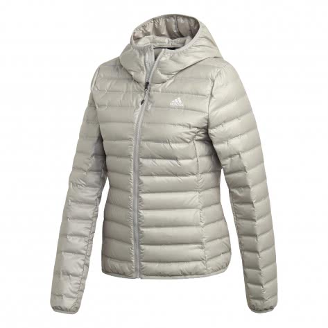 adidas Damen Daunenjacke Varilite Down Hooded Jacket