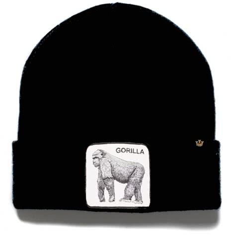 Goorin Bros. Unisex Beanie Knit Hat 107-0095 One size Beast Mode Black | One size
