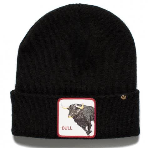 Goorin Bros. Unisex Beanie Knit Hat 107-0096 One size Big Bull Black   One size
