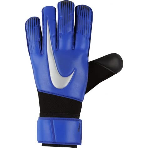Nike Torwarthandschuhe Goalkeeper Grip3 GS0360-410 11 Racer Blue/Black/Metallic Silver | 11