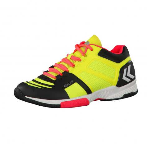 Hummel Herren Handballschuhe Aerocharge HB 220 60402-5279 48.5 Safety Yellow/Black | 48.5