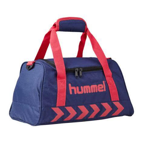 Hummel Sporttasche Authentic Sports Bag 40957-8631 XS PATRIOT BLUE/VIRTUAL PINK   XS