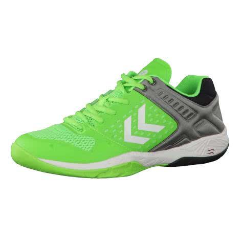 Hummel Herren Handballschuhe Omnicourt Z7 60399-6595 48.5 Green Gecko | 48.5