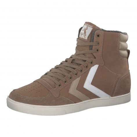 Hummel Sneaker Slimmer Stadil Duo Oiled High Leather 205660